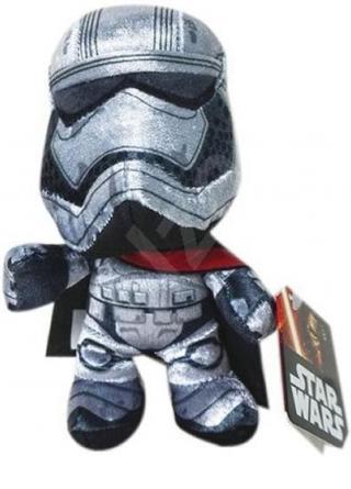 Star Wars VII - Captain Phasma 25cm plyšová figurka [HRAČKA]